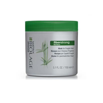 Matrix, Biolage Маска Fiberstrong, для укрепления ломких ослаблен. волос, 150 млМаски для волос<br>Делает слабые волосы сильнее, восстанавливает структуру волос<br>