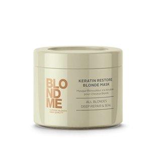 Schwarzkopf, Маска BlondMe, кератиновое восстановление, 200 млМаски для волос<br>Маскавосстанавливает эластичность волос, обеспечивая им естественную мягкость<br>