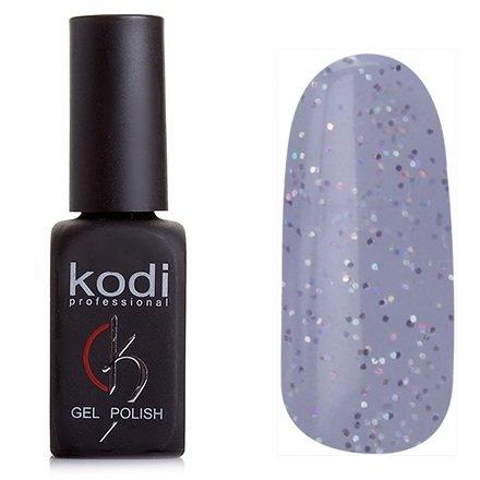 Kodi, Гель-лак № 147 (8ml)Kodi Professional <br>Гель-лак прозрачно-фиолетовый, с добавлением мелких серебряно-голографических блесток, полупрозрачный, 8мл.<br>