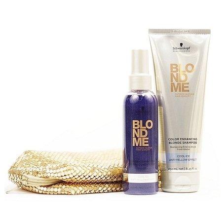Schwarzkopf, Набор BlondMe, для холодных оттенковШампуни<br>Набор BlondMe - это роскошный уход для волос, окрашенных в холодные оттенки блонда<br>