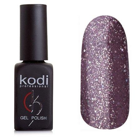 Kodi, Гель-лак № 153 (8ml)Kodi Professional <br>Гель-лак розово-коричневый с большим количством мелких и средних голографических блесток,плотный, 8мл.<br>