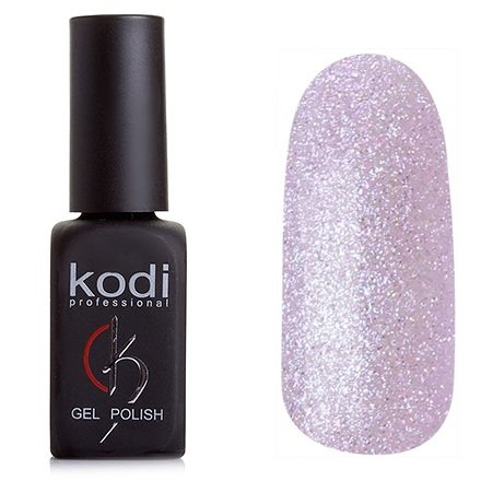 Kodi, Гель-лак № 158 (8ml)Kodi Professional <br>Гель-лакбледный розово-сиреневый, с большим количеством голографических блесток, плотный, 8мл.<br>