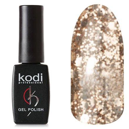 Kodi, Гель-лак № 159 (8ml)Kodi Professional <br>Гель-лакжемчужный с розовыми и золотистыми блестками, полупрозрачный, 8мл.<br>