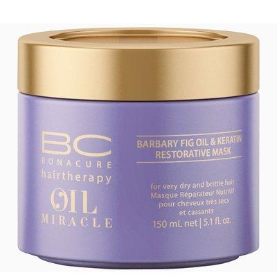 Schwarzkopf, Маска BC Oil Miracle Barbary, восстанавливающая, 150 млМаски для волос<br>Восстанавливающая маска с маслом максимально питает сухие и ломкие волосы<br>
