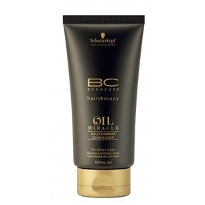 Schwarzkopf, Кондиционер BC Oil Miracle - Золотое сияние, 150 млБальзамы и Кондиционеры<br>Облегчает расчесывание, питая волосы свойствами арганового масла<br>