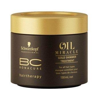 Schwarzkopf, Маска BC Oil Miracle, Золотое сияние, 150 млМаски для волос<br>Маска с аргановым масломглубоко питает волосы изнутри<br>