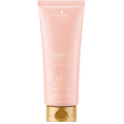Schwarzkopf, Шампунь BC Oil Miracle Rose, для кожи головы и волос, 200 млШампуни<br>Шампунь очищает воздушной пеной, успокаивает и увлажняет, даря стойкий нежный аромат<br>