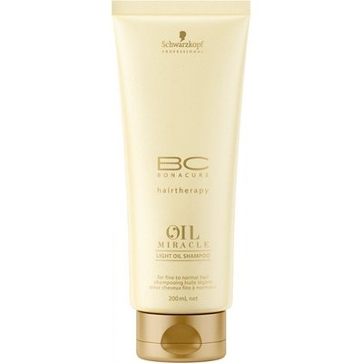 Schwarzkopf, Шампунь BC Oil Miracle, для тонких и нормальных волос, 200 млШампуни<br>Шампунь подходит для ежедневного очищения тонких волос<br>