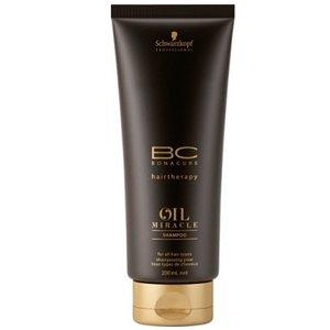 Schwarzkopf, Шампунь BC Oil Miracle, Золотое сияние, 200 млШампуни<br>Шампунь, бережно очищает волосы, придавая им роскошный блеск и восхитительную мягкость<br>