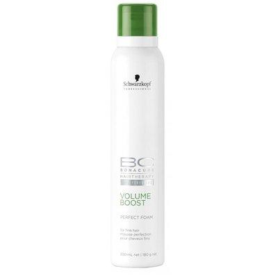 Schwarzkopf, Мусс BC Volume Boost, придающий объем волосам, 200 млСредства для укладки<br>Мусс для прикорневогообъема нормальных и тонких, лишенных объема волос<br>