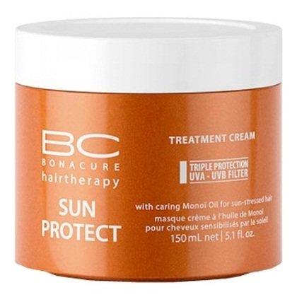 Schwarzkopf, Маска BC Sun Protect, Защита от солнца, 150 млМаски для волос<br>Маска глубокого восстановления для волос, поврежденных солнцем<br>