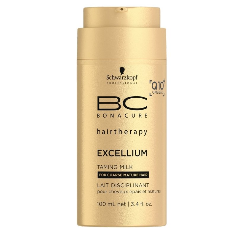 Schwarzkopf, Молочко BC Excellium, смягчающее, 100 млСредства для укладки<br>Восстанавливает жесткие зрелые волосы и защищает их от потускнения<br>