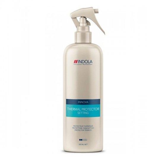 Indola, Термоспрей Styling Setting, защитный д/выпрямления волос, 300 мл