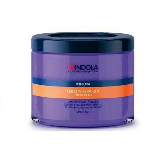 Indola, Маска Innova Keratin Straight, кератиновое выпрямление, 200 млМаски для волос<br>Маска разработана специально для выпрямления жестких и непослушных волос<br>