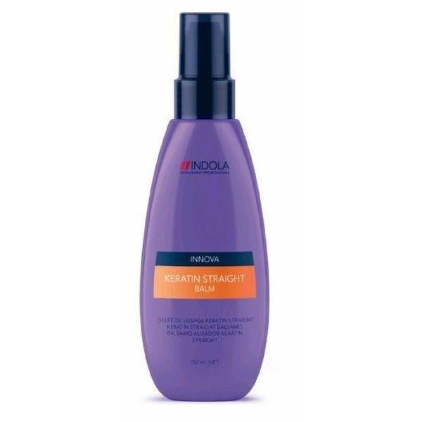 Indola, Бальзам Innova Keratin Straight, кератиновое выпрямление, 150 млБальзамы и Кондиционеры<br>Бальзам используется перед сушкой волос феном<br>
