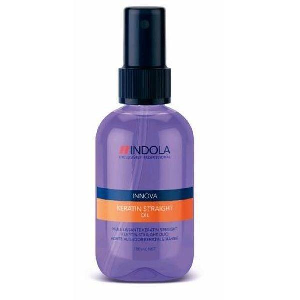 Indola, Масло Innova Keratin Straight, кератиновое выпрямление, 100 млМасло для волос<br>Масло надежно разглаживает волосы и способствует восстановлению структуры<br>