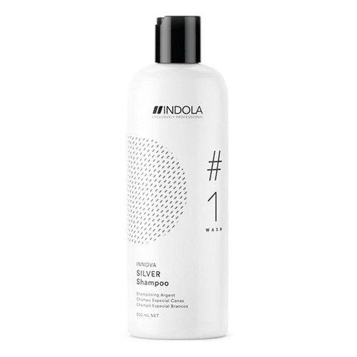 Indola, Шампунь Innova Color, придающий серебристый оттенок волосам, 300 млШампуни<br>Шампунь для усиления серебристых оттенков светлых и седых волос<br>