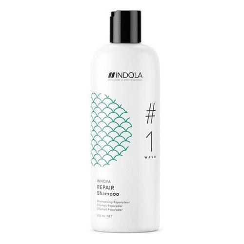 Indola, Шампунь Innova Repair, восстанавливающий, 300 млШампуни<br>Шампунь для мягкого очищения сухих, пористых и поврежденных волос<br>