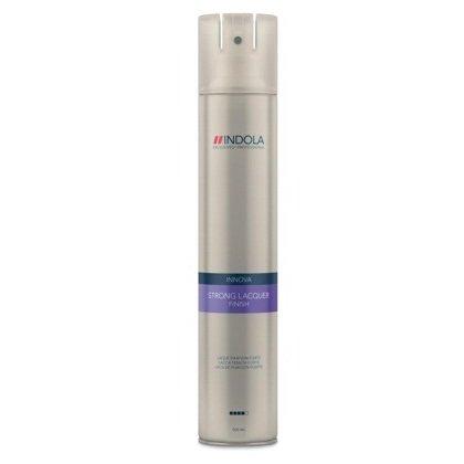 Indola, Лак Styling Finish, для волос сильной фиксации, 500 млСредства для укладки<br>Лак для волос сильной фиксации с системой микрораспыления<br>