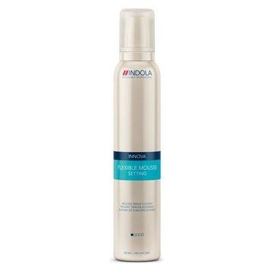 Indola, Мусс Styling Setting, д/волос мягкой фиксации, 300 млСредства для укладки<br>Мусс для мягкой фиксации и придания волосам дополнительного объема<br>