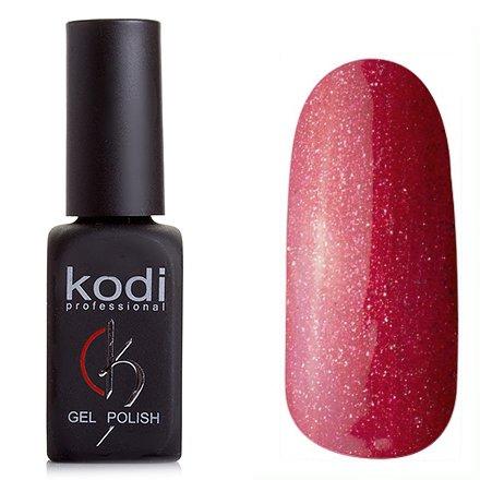 Kodi, Гель-лак № 168 (8ml)Kodi Professional <br>Гель-лак темно-малиновый с блестками и перламутром, плотный, 8мл.<br>