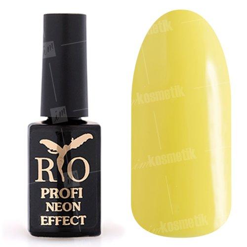 Rio Profi, Гель-лак Neon Effect №010Rio Profi<br>Гель-лак неон, желтый, плотный<br>