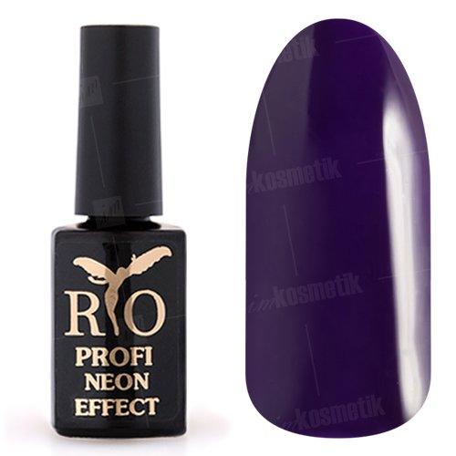 Rio Profi, Гель-лак Neon Effect №012Rio Profi<br>Гель-лак неон, фиолетовый, плотный<br>
