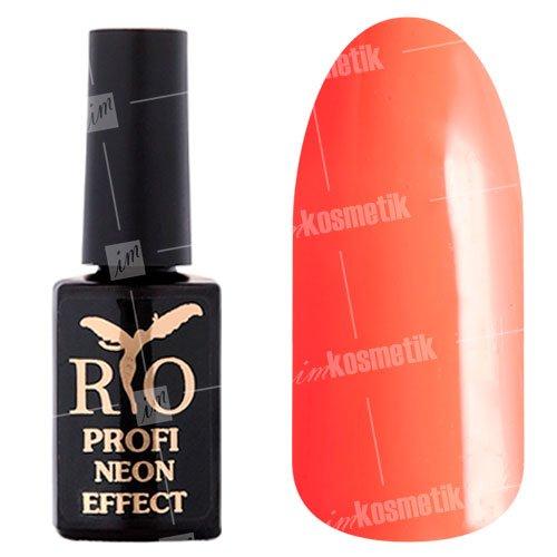 Rio Profi, Гель-лак Neon Effect №013Rio Profi<br>Гель-лак неон, розовый, плотный<br>