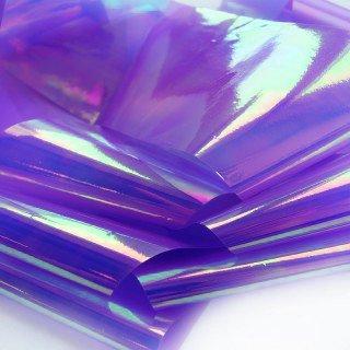 NelTes, Фольга - Битое стекло (фиолетово-зеленый)Битое стекло<br>Фольга для создания эффекта битое стекло или стеклянные ногти<br>
