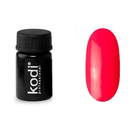 Kodi, Гель-краска №159 (4ml)Гель краски Kodi Professional<br>Гель-краска для дизайна без липкого слоя неоный коралловый, без блесток, перламутровая, плотная, 4 мл.<br>