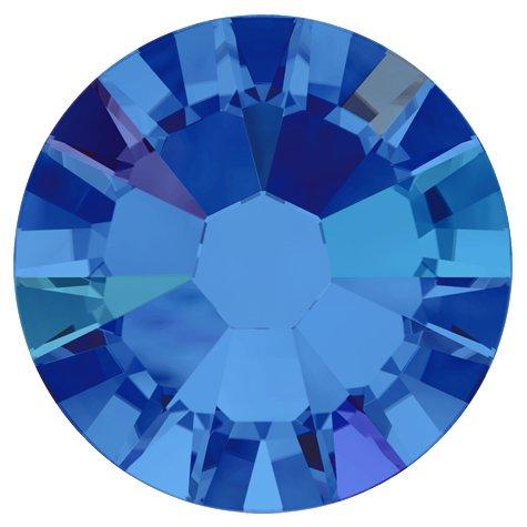 NelTes, Стразы АВ Сапфир 2,8 мм (30шт.)Стразы с голографическим эффектом<br>Стразы диаметром 2,8 мм для неповторимого, сияющего маникюра.<br>
