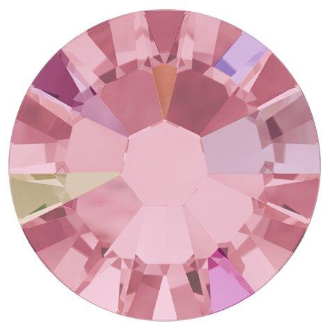 NelTes, Стразы АВ Розовый 1,5 мм (30шт.)Стразы с голографическим эффектом<br>Стразы диаметром 1,5 мм для неповторимого, сияющего маникюра.<br>