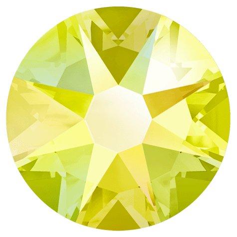 NelTes, Стразы АВ Цитрин 1,8 мм (30шт.)Стразы с голографическим эффектом<br>Стразы диаметром 1,8 мм для неповторимого, сияющего маникюра.<br>