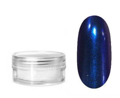 NelTes, Втирка для дизайна ногтей - эффект хамелеон №2Зеркальная втирка<br>Втирка для создания эффектного маникюрахамелеон сине-фиолетовый<br>