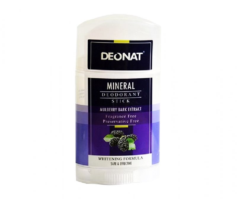 DeoNat, Кристалл-ДеоНат - Twist-up c экстрактом Коры Тутовника, 100 гр.Природный дезодорант Кристал-ДеоНат<br>Природный дезодорант Кристалл ДеоНат - 100% натуральный продукт.<br>