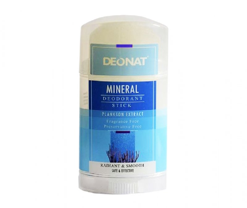 DeoNat, Кристалл-ДеоНат Twist-up c экстрактом Планктона, 100 гр.Природный дезодорант Кристал-ДеоНат<br>Природный дезодорант Кристалл ДеоНат - 100% натуральный продукт.<br>