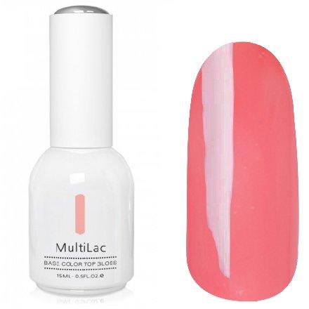 ruNail, MultiLac №2316 (15 мл.)Однофазный RuNail<br>Гель-лак 4 в 1, цвет бежево-розовый<br>