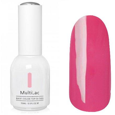 ruNail, MultiLac №2320 (15 мл.)Однофазный RuNail<br>Гель-лак 4 в 1, цвет темно-розовый<br>
