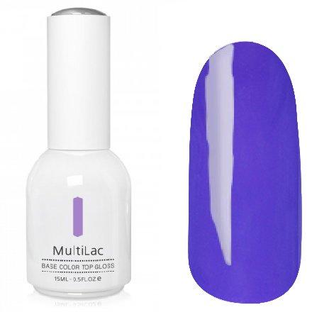 ruNail, MultiLac №2331 (15 мл.)Однофазный RuNail<br>Гель-лак 4 в 1, цвет фиолетовый<br>
