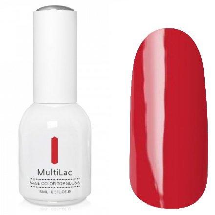 ruNail, MultiLac №2353 (15 мл.)Однофазный RuNail<br>Гель-лак 4 в 1, цвет лесной пожар<br>