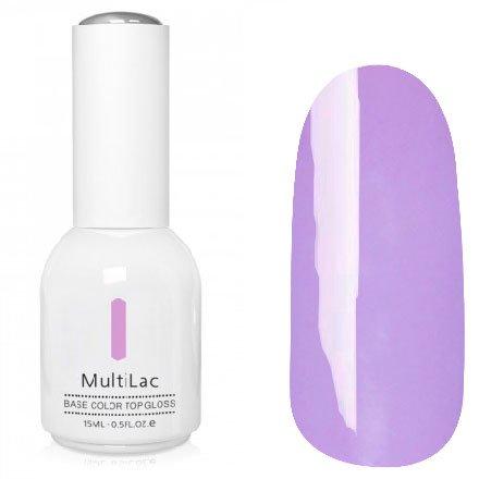 ruNail, MultiLac №2624 (15 мл.)Однофазный RuNail<br>Гель-лак 4 в 1, цвет лавандовый<br>