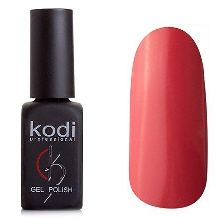 Kodi, Гель-лак № 186 (8ml)Kodi Professional <br>Гель-лак темный лососево-розовый, без блесток и перламутра, плотный,8мл.<br>