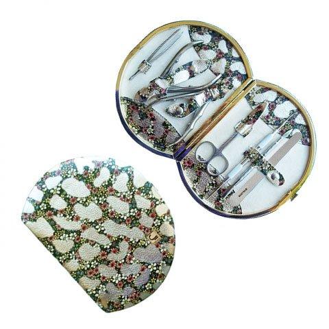 Staleks, Маникюрно-педикюрный набор «Рамка Профессиональная» НМ-07/1 (Цветы на золоте)Инструменты для педикюра<br>Маникюрно-педикюрный набор «Рамка Профессиональная» НМ-07/1 (Цветы на золоте)<br>