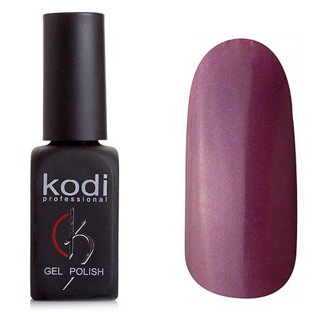 Kodi, Гель-лак № 191 (8ml)Kodi Professional <br>Гель-лак темно-баклажановый с перламутром, с микроблестками, полупрозрачный,8мл.<br>