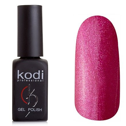 Kodi, Гель-лак № 193 (8ml)Kodi Professional <br>Гель-лактемно-малиновый с розовым перламутром, плотный,8мл.<br>