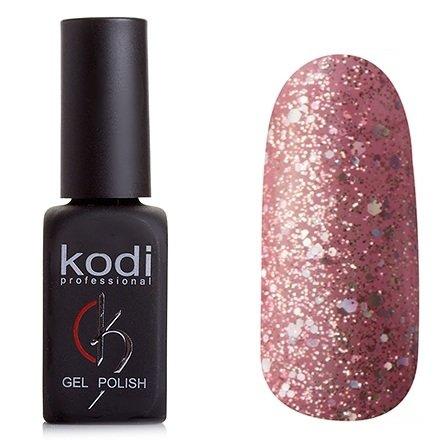 Kodi, Гель-лак № 197 (8ml)Kodi Professional <br>Гель-лакрозовый с лиловым подтоном, с большим количеством мелких, средних и крупных блесток, полупрозрачный,8мл.<br>