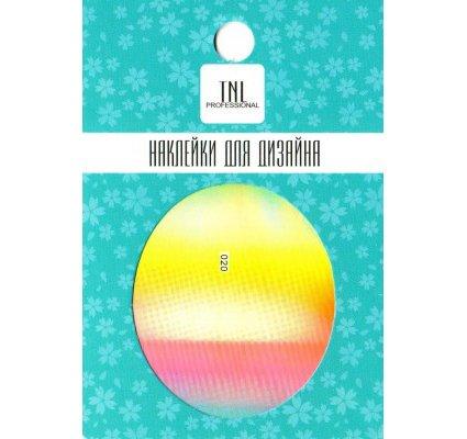 TNL, Наклейка-фольга для дизайна 020Наклейка-фольга для дизайна TNL<br>Наклейка-фольга для дизайна<br>