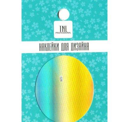 TNL, Наклейка-фольга для дизайна 026Наклейка-фольга для дизайна TNL<br>Наклейка-фольга для дизайна<br>