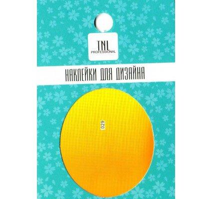 TNL, Наклейка-фольга для дизайна 029Наклейка-фольга для дизайна TNL<br>Наклейка-фольга для дизайна<br>