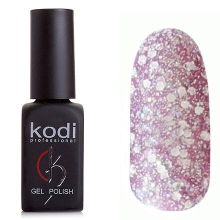 Kodi, Гель-лак № 203 (8ml)Kodi Professional <br>Гель-лак сиреневый с крупными и мелкими блестками, полупрозрачный,8мл.<br>